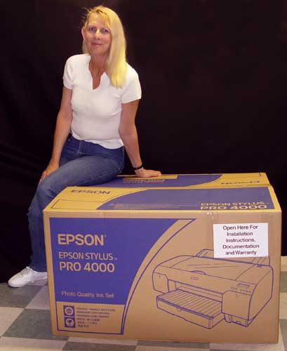 epson  sp 4000 box