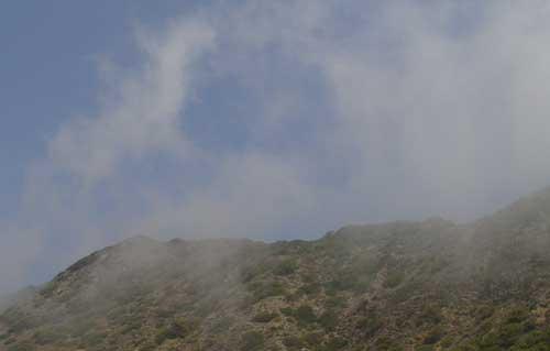 Fog On Hills