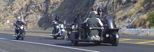 Filming Star Motorcycle
