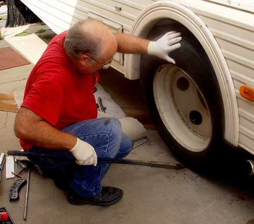 Motorhome Brake Job