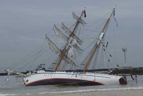 Ship Lost Ground