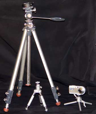 Tripods and Tripod Booties